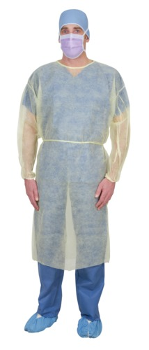 Single-Use Spunbond Cover Gown