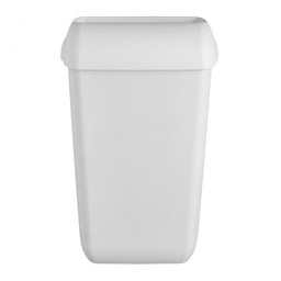 [SC64933] White 23 Liters open-jet wastebasket