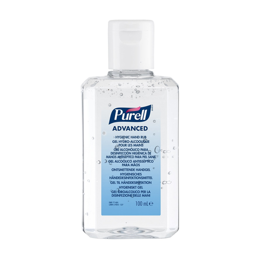 [SC64954] Advanced Hydro-Alcoholic Hand Gel - Purell Gojo Pocket Bottle 100ml