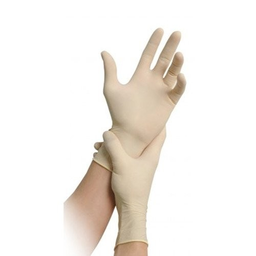 Maimed Solution 100 Medium Powdered Latex Examination Gloves