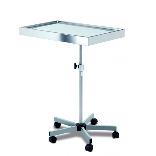 [SC82068] Instrument table on wheels in stainless steel