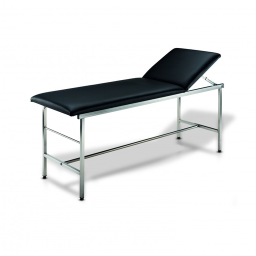 [SC82069] Examination table with square steel tubes and roller holder