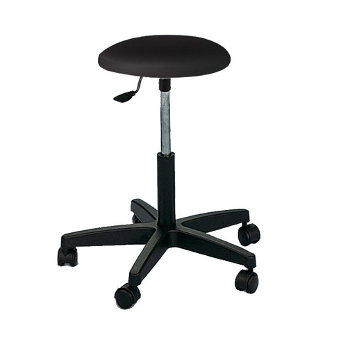 [SC82079] Practical stool hydraulically adjustable in height with wheels